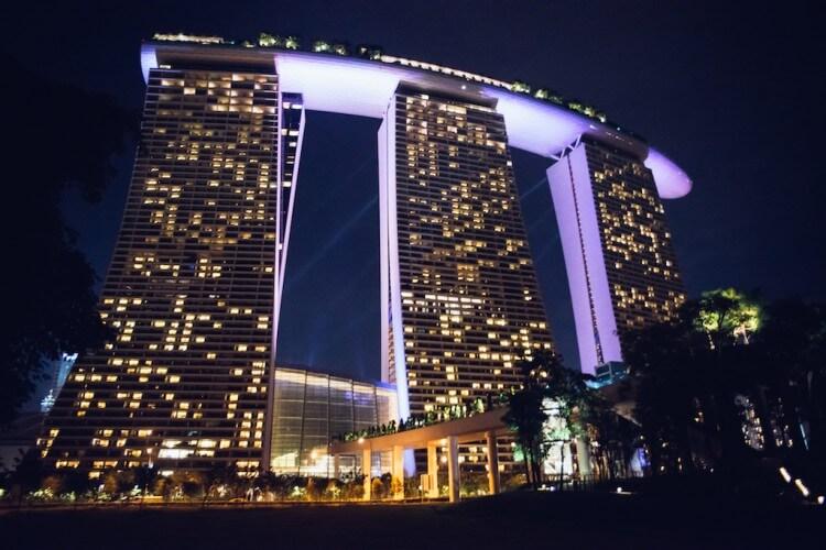 亞倫攝影工作室,新加坡金沙酒店