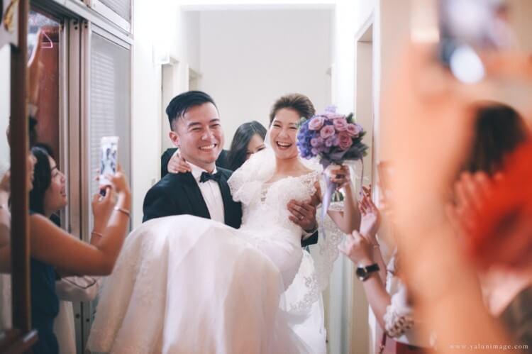 婚攝亞倫婚禮紀錄,新店彭園婚宴