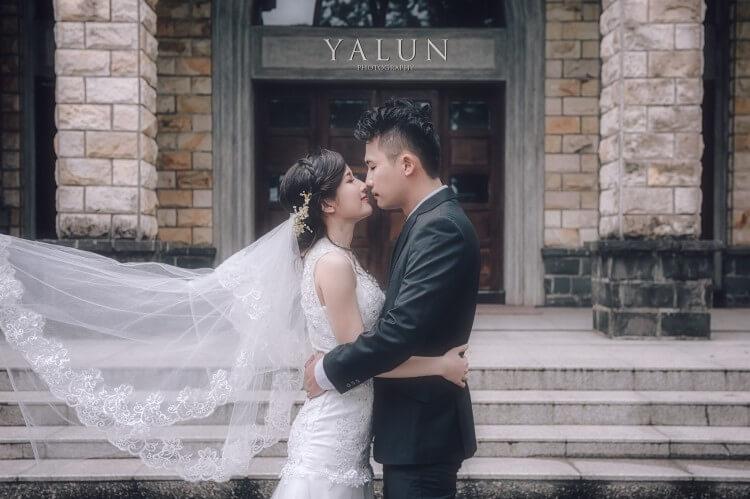 Pre-Wedding,自助婚紗,台北婚紗,亞倫攝影,I am YUKI,滬尾砲台,濟南教會,小櫥窗,晴天婚紗